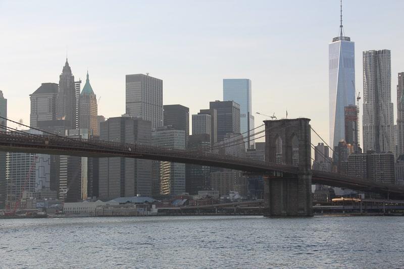 ブルックリンブリッジ ニューヨーク