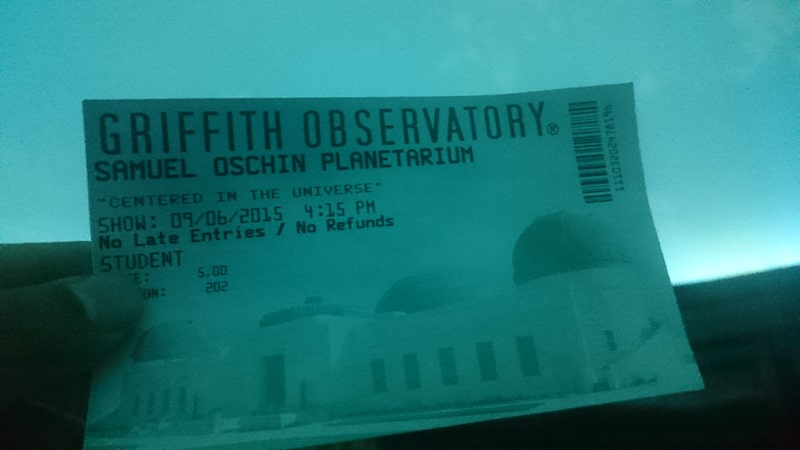 グリフィス天文台 プラネタリウム