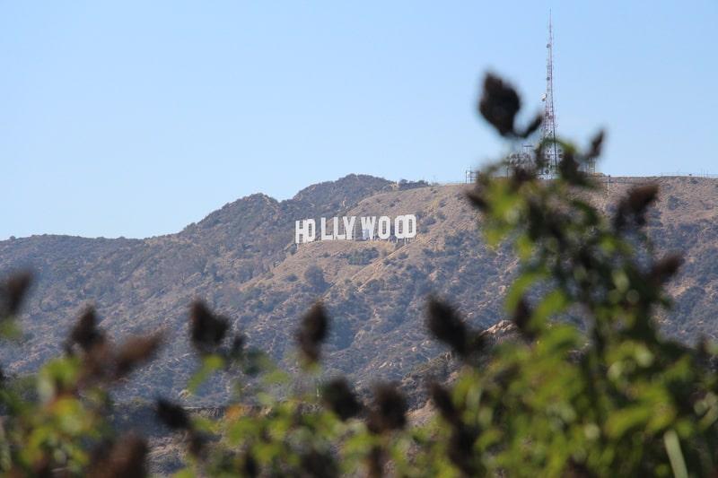 グリフィス天文台 ハリウッド 文字