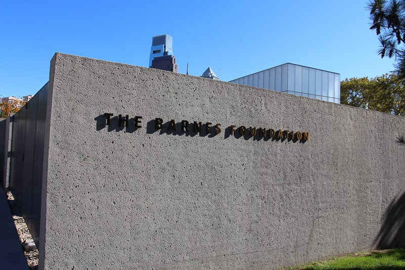 バーンズ財団美術館