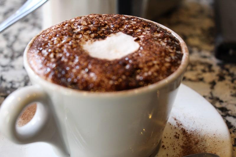 Caffe Vittoria カプチーノ