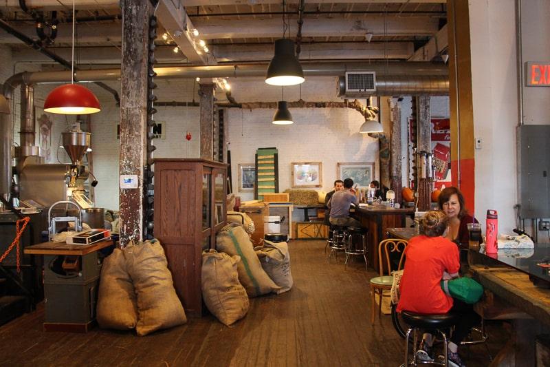 Brooklyn Roasting Company 工場を改築