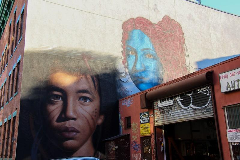 ブルックリン壁画